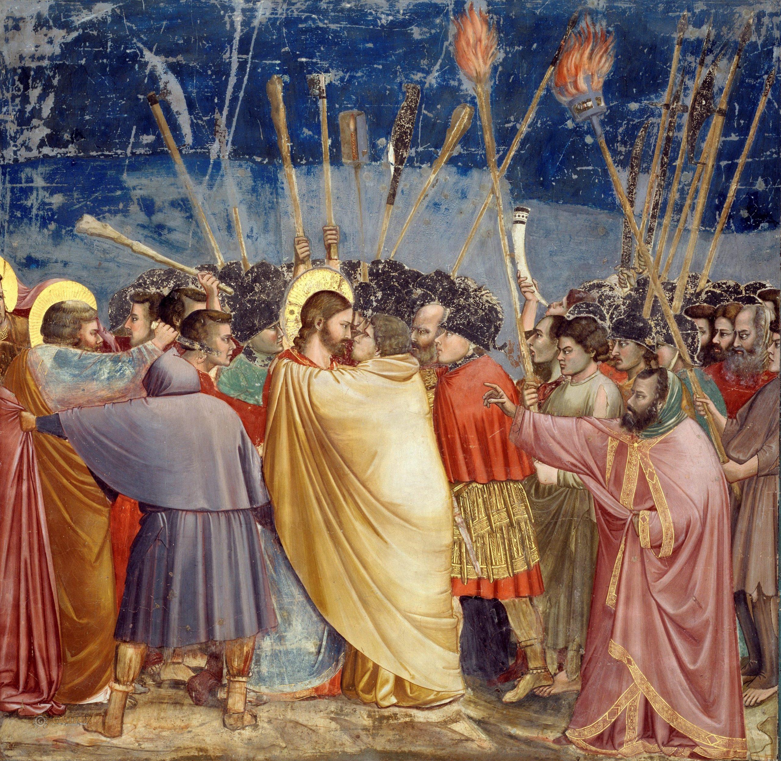 Giotto Juudaksen suudelma scaled | Sisyfoksen tilityksiä