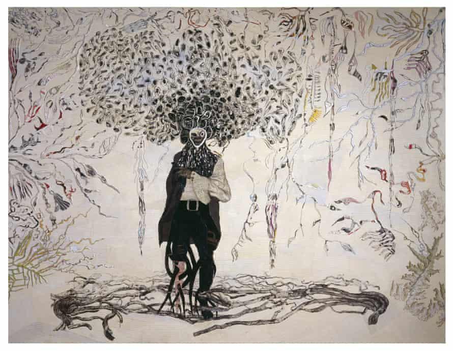 Ellen Gallagher Bird in Hand | Sisyfoksen tilityksiä